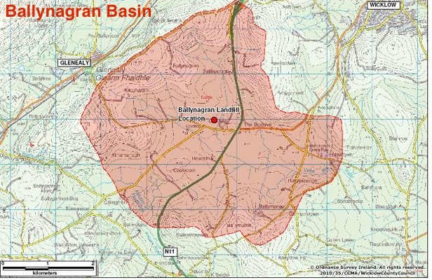 Ballynagran Basin - Area of Impact